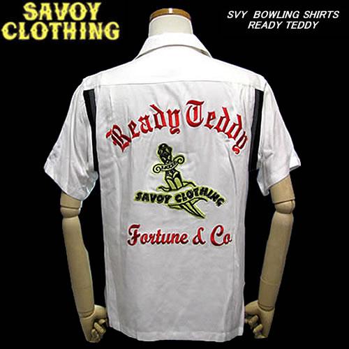 SAVOY CLOTHINGサボイクロージング◆SVY ボーリングシャツ◆READY TEDDY