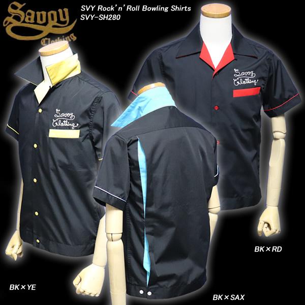 SAVOY CLOTHINGサボイクロージング◆SVY Rock'n'Roll Bowling Shirts◆◆ロックンロールボーリングシャツ◆SVY-SH280