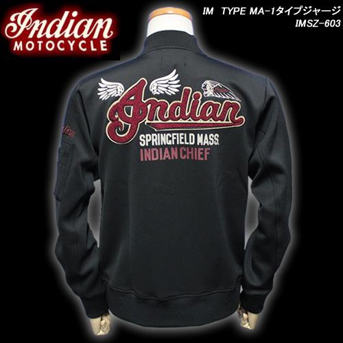 INDIAN MOTOCYCLEインディアン・モトサイクル◆IM TYPE MA-1タイプジャージ◆IMSZ-603