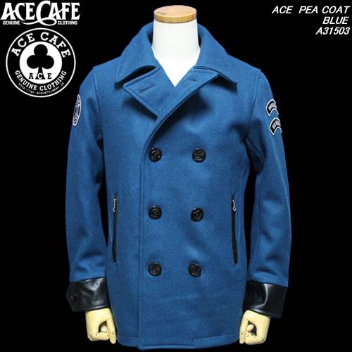輝い ACE CAFEエースカフェ◆ACE PEA COAT◆◆BLUE◆A31503:CREAM SODA ACE SHOP Garage PARADISE, LAUSS:f5a6ba48 --- nagari.or.id