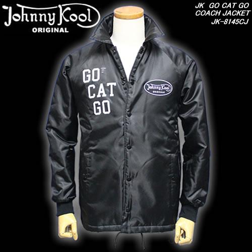 Johnny Koolジョニークール◆JK GO CAT GO COACH JACKET◆◆コーチジャケット◆JK-8145CJ