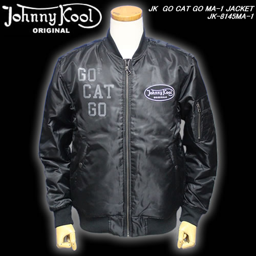 Johnny Koolジョニークール◆JK GO CAT GO MA-1 JACKET◆JK-8145MA-1