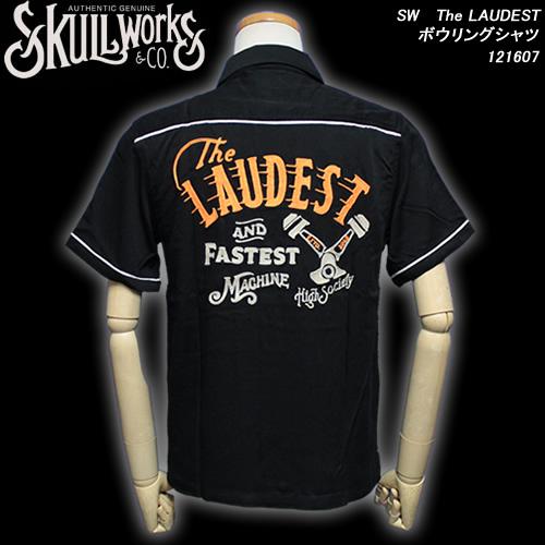 SKULL WORKSスカルワークス◆SW The LAUDEST ボウリングシャツ◆121607
