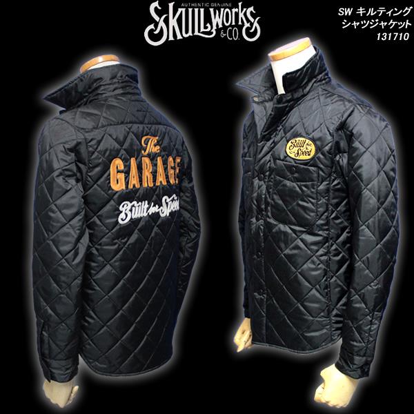SKULL WORKSスカルワークス◆SW キルティングシャツジャケット◆131710