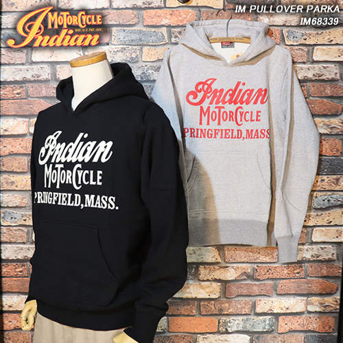 INDIAN MORTORCYCLEインディアン・モーターサイクル◆IM PULLOVER PARKA◆IM68339