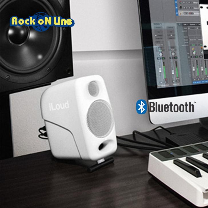 【クーポン配布中!】IK Multimedia(アイケーマルチメディア) iLoud Micro Monitor White Special Edition【DTM】【モニタースピーカー】【PCスピーカー】