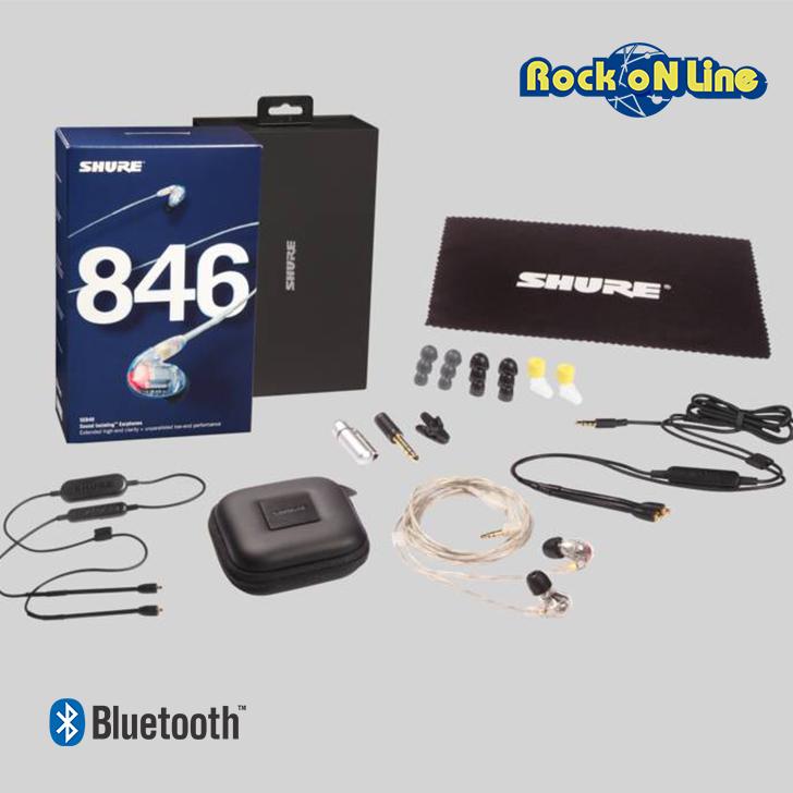 【クーポン配布中!】SHURE(シュア) SE846-CL+BT1-A【イヤホン・イヤーモニター】【Bluetooth】