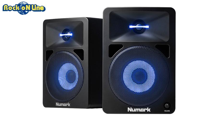 Numark(ヌマーク) N-Wave 580L【2ウェイ・パワードモニター】【DJ】