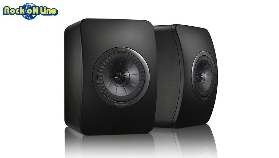 KEF(ケーイーエフ) LS50 Black Edition (1ペア)【スピーカー】