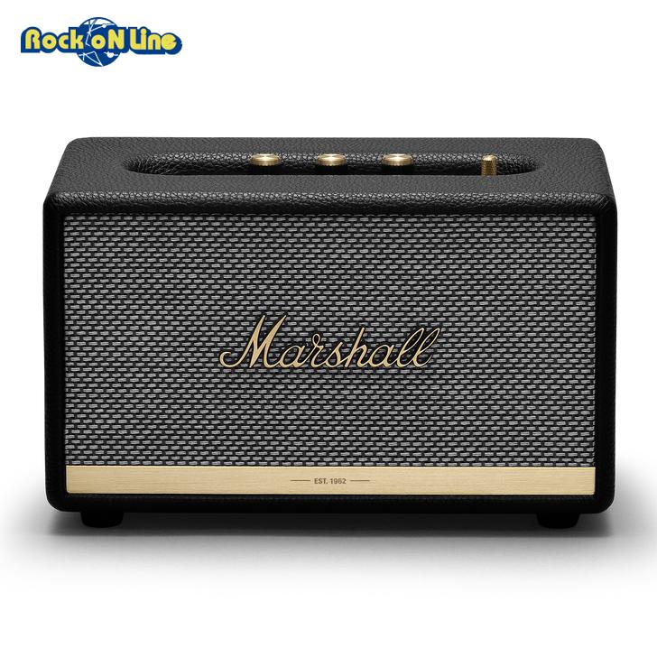 Marshall(マーシャル) ACTON II Bluetooth Black【オーディオ】【Bluetoothスピーカー】【インテリア】