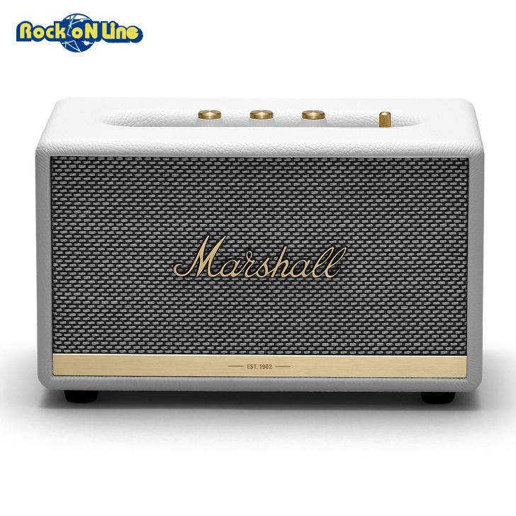 Marshall(マーシャル) ACTON II Bluetooth White【オーディオ】【Bluetoothスピーカー】【インテリア】