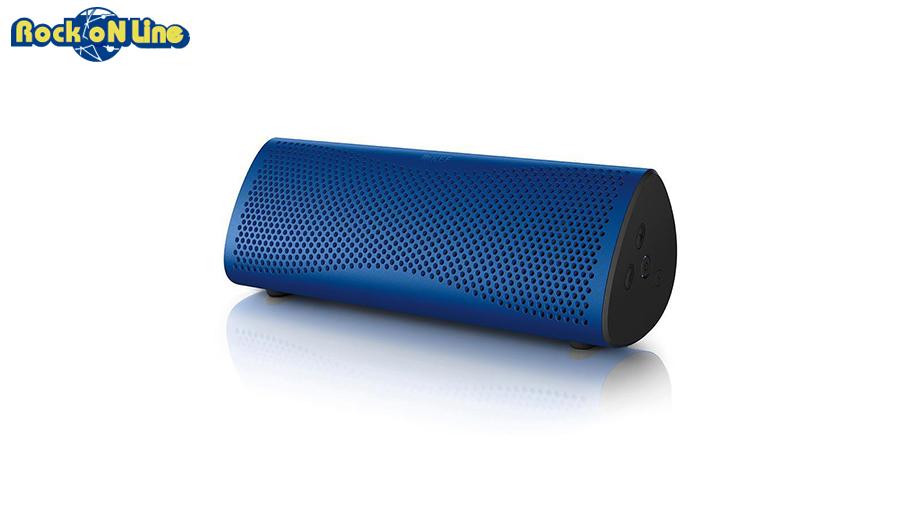 KEF(ケーイーエフ) MUO Blue(1本)【オーディオ】【Bluetoothスピーカー】