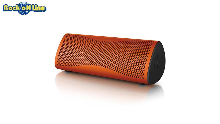 KEF(ケーイーエフ) MUO Orange(1本)【オーディオ】【Bluetoothスピーカー】