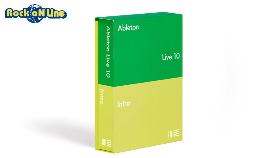 Ableton(エイブルトン) Live 10 Intro ダウンロード版【※シリアルメール納品】【DTM】