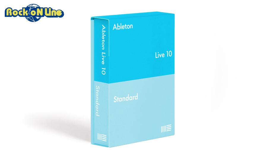 Ableton(エイブルトン) Live 10 Standard ダウンロード版【期間限定特価セール!5/20まで】【※シリアルメール納品】【DTM】