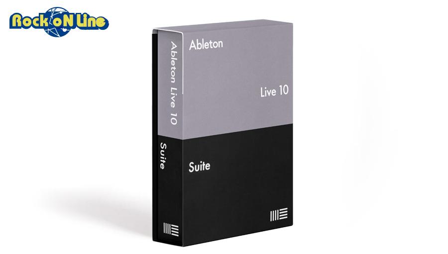【クーポン配布中!】Ableton(エイブルトン) Live 10 Suiteダウンロード版【※シリアルメール納品】【DTM】