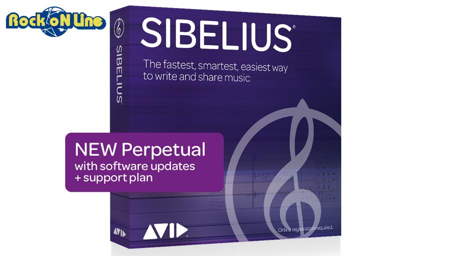 【クーポン配布中!】Avid(アビッド) Sibelius(旧Sibelius | First (有償))【楽譜作成ソフト】