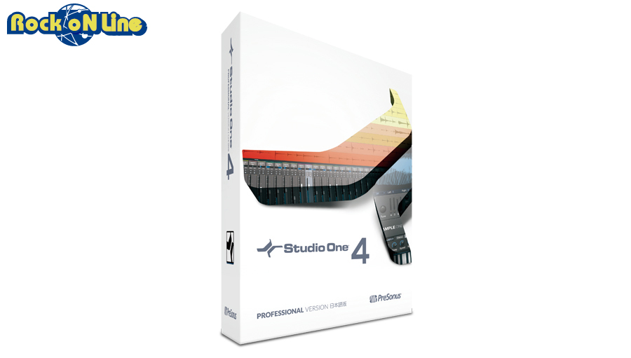 PreSonus(プリソーナス) Studio One 4 Professional 日本語版(パッケージ版)【数量限定クリエイター応援特価キャンペーン!】【DTM】【DAW】【作曲ソフト】