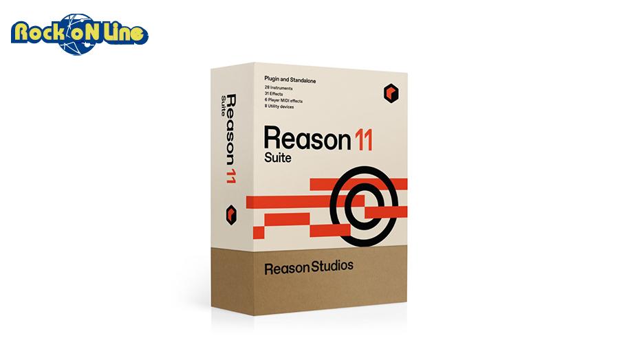 Reason Studios Reason 11 Suite【DTM】【DAW】【作曲ソフト】