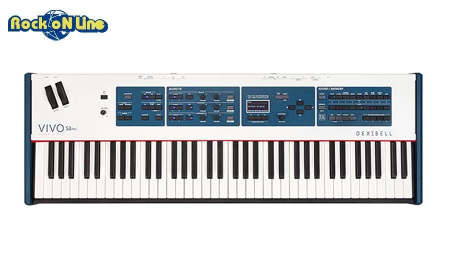 大特価!! Dexibell(デキシベル) VIVO S3 PRO S3【電子ピアノ】 VIVO【73鍵盤】, PARTS:aaa68e19 --- esef.localized.me