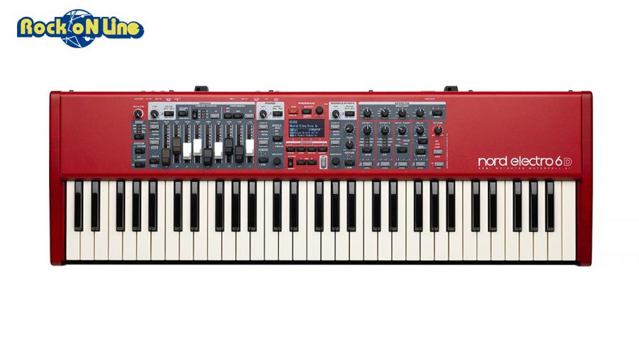 【クーポン配布中!】Nord(ノード) Nord Electro 6D 61【ステージキーボード】