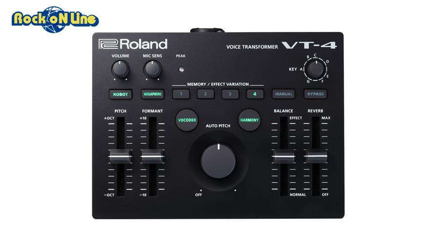 【クーポン配布中!】ROLAND(ローランド) VT-4【人気商品につき次回入荷未定(2019年春以降)。ご予約受付中】