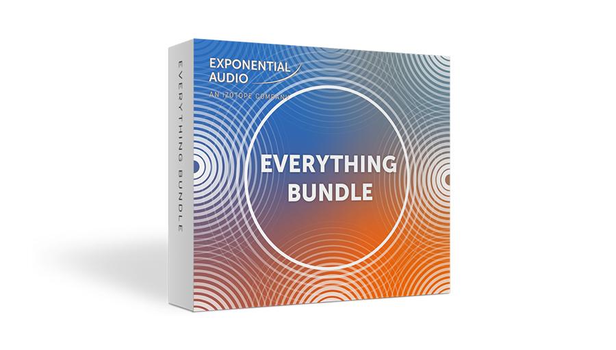Exponential Audio(エクスポネンシャル・オーディオ) Exponential Audio Everything Bundle【※シリアルPDFメール納品】【DTM】【プラグインエフェクト】