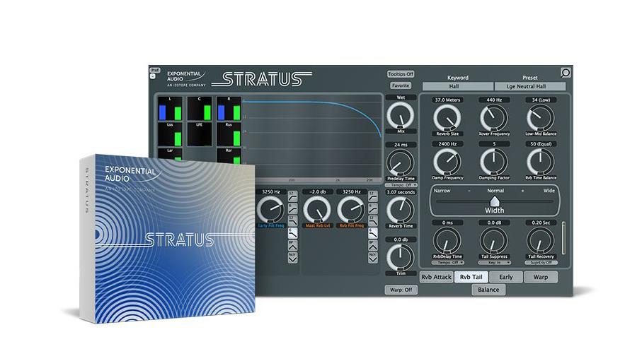 Exponential Audio(エクスポネンシャル・オーディオ) Stratus【Exponential Audio 特価キャンペーン!4月30日まで!】【※シリアルPDFメール納品】【DTM】【プラグインエフェクト】