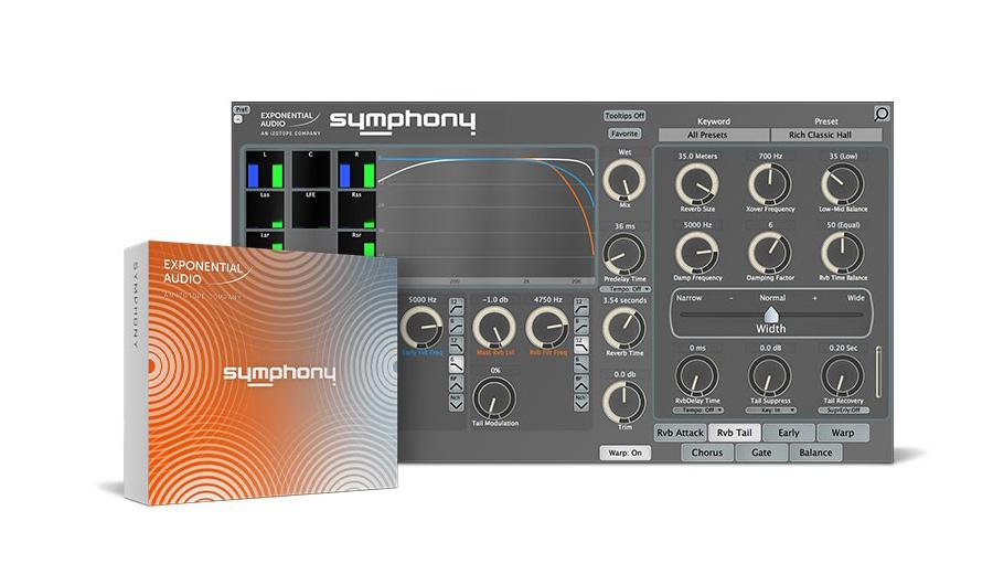 Exponential Audio(エクスポネンシャル・オーディオ) Symphony【※シリアルPDFメール納品】【DTM】【プラグインエフェクト】