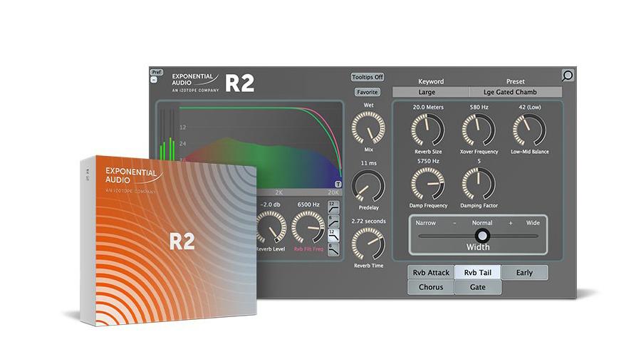 Exponential Audio(エクスポネンシャル・オーディオ) R2【※シリアルPDFメール納品】【DTM】【プラグインエフェクト】