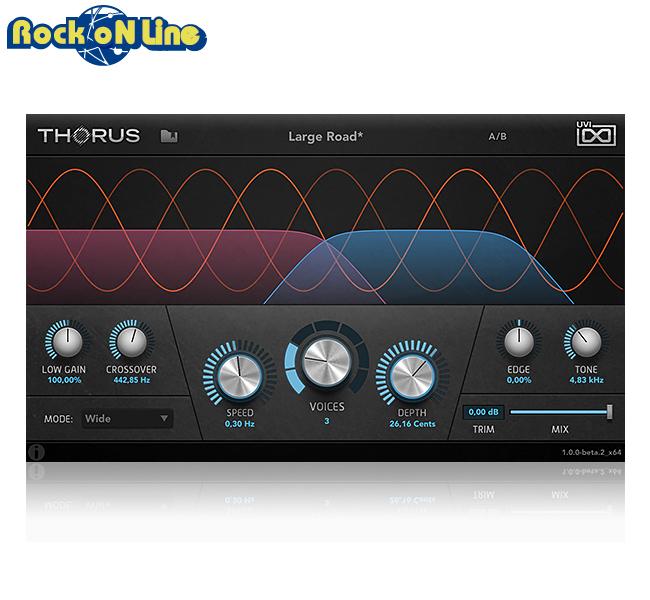 【クーポン配布中!】UVI(ユーブイアイ) Thorus【※シリアルPDFメール納品】【DTM】【エフェクトプラグイン】
