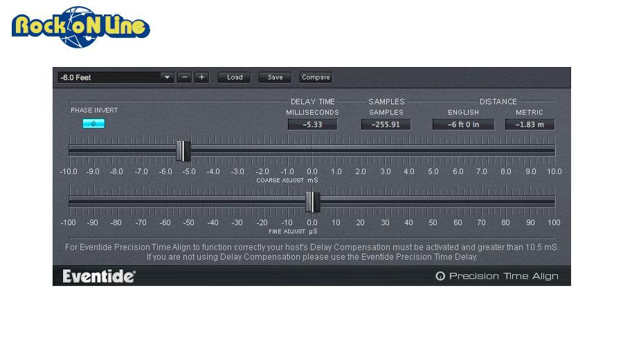Eventide(イーブンタイド) Precision Time Align【DTM】【プラグインエフェクト】