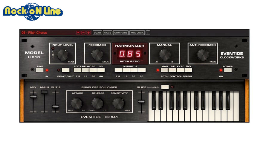 Eventide(イーブンタイド) H910 Harmonizer【DTM】【プラグインエフェクト】