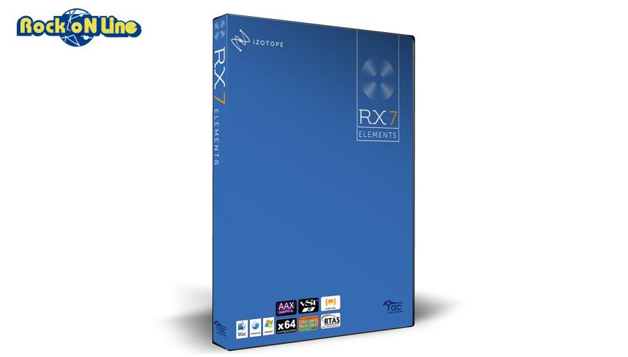【最大5%OFFクーポン!】iZotope(アイゾトープ) RX7 Elements【RX7 スタートアップキャンペーン!】【DTM】【プラグインエフェクト】【ノイズ除去ソフト】