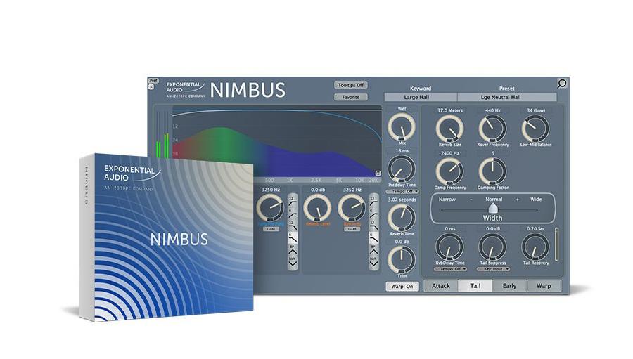 Exponential Audio(エクスポネンシャル・オーディオ) NIMBUS【※シリアルPDFメール納品】【DTM】【プラグインエフェクト】