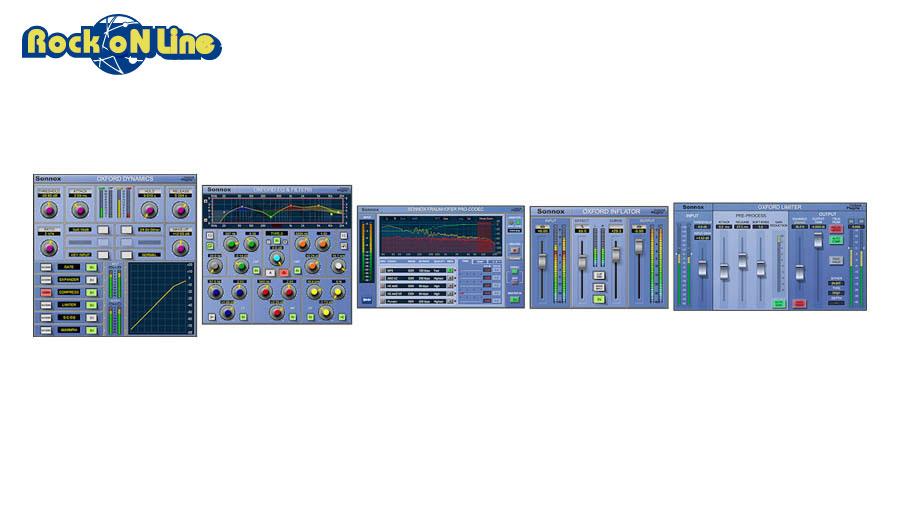 Sonnox Oxford(ソノックス オックスフォード) Mastering HD-HDX【DTM】【エフェクトプラグイン】【マスタリング】
