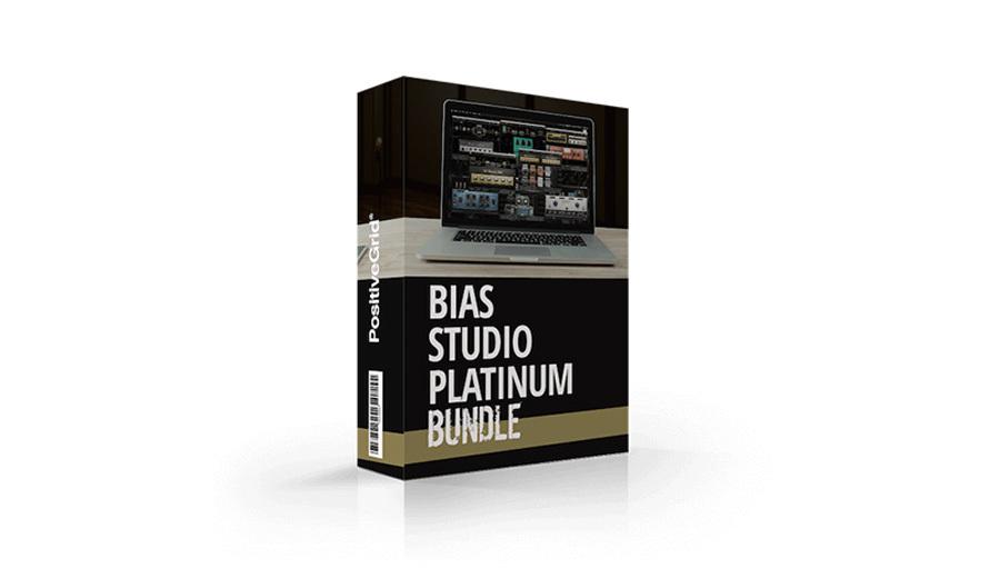 Positive Grid(ポジティブ グリッド) BIAS Studio Platinum【Positive Grid Spring Software Promotion!】【※シリアルPDFメール納品】