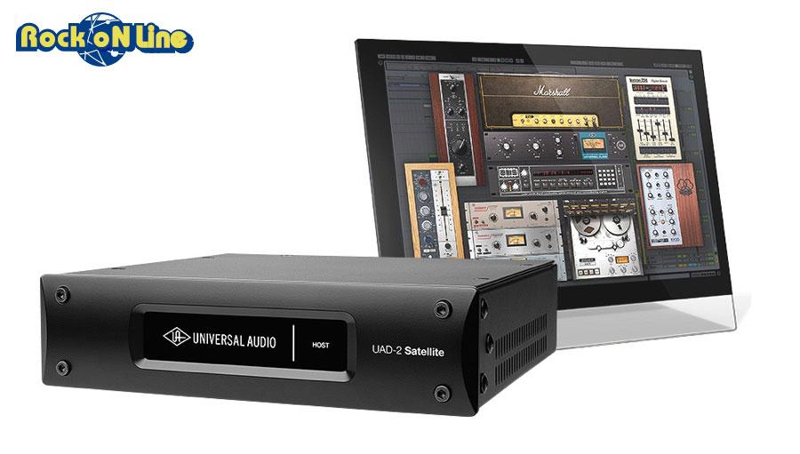 Universal Audio(ユニバーサルオーディオ) UAD-2 SATELLITE USB QUAD CUSTOM【DTM】【エフェクトプラグイン】