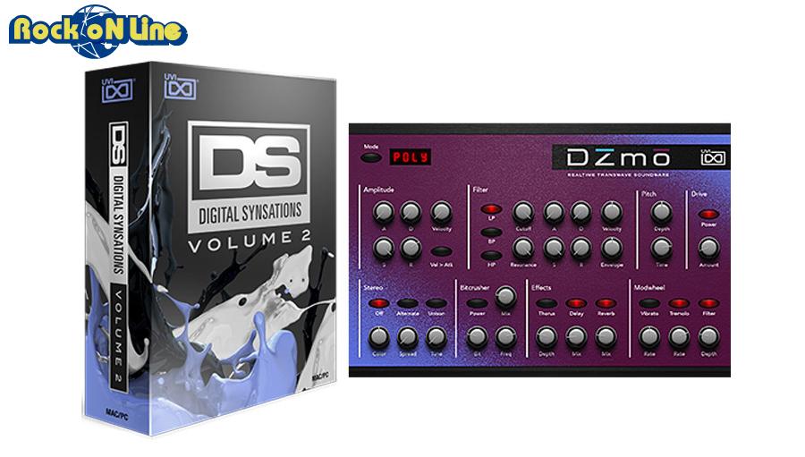 【クーポン配布中!】UVI(ユーブイアイ) Digital Synsations Vol. 2【※シリアルPDFメール納品】【DTM】【シンセサイザー】