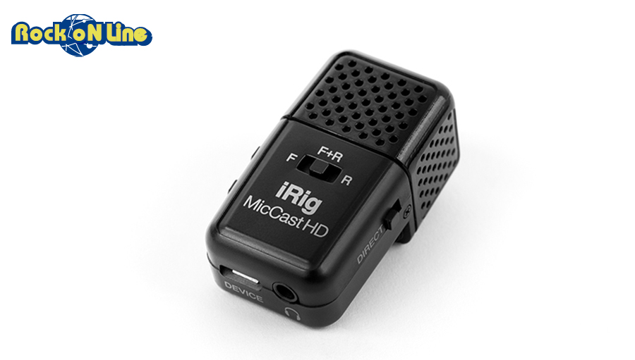 IK Multimedia(アイケーマルチメディア) iRig Mic Cast HD【DTM】【マイク】【iPad/iOS対応】