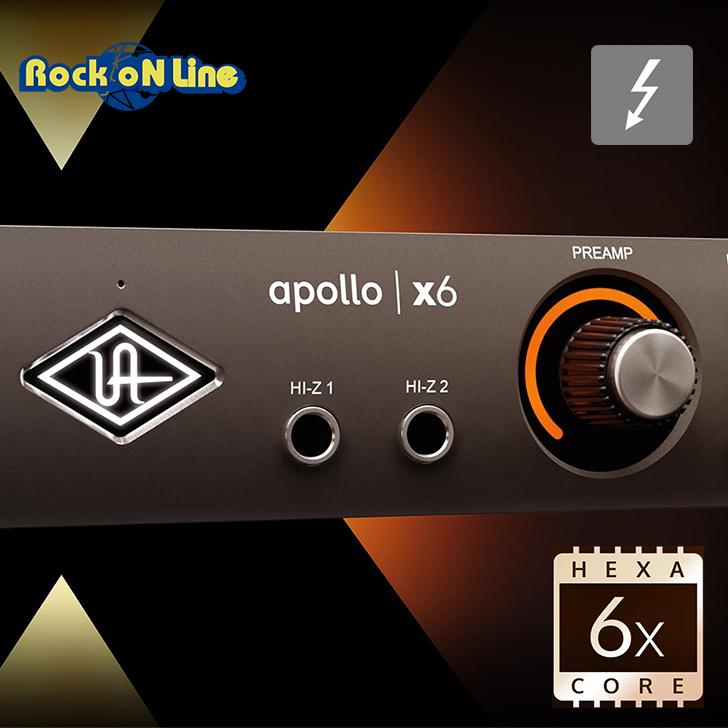 【クーポン配布中!】Universal Audio(ユニバーサルオーディオ) APOLLO x6【DTM】【オーディオインターフェイス】