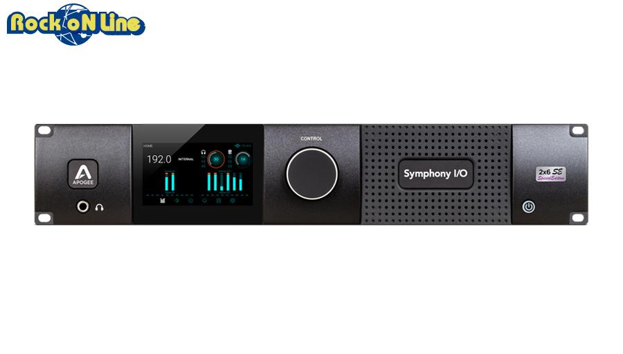 【クーポン配布中!】APOGEE(アポジー) Symphony I/O MKII PTHD 2x6 SE