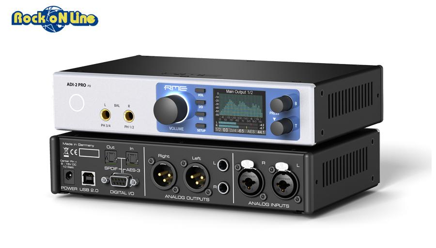 【クーポン配布中!】RME AUDIO(アールエムイー オーディオ) ADI-2 Pro FS【DTM】【オーディオインターフェイス】【コンバーター】