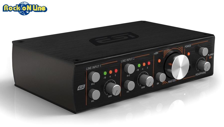 ESI Audiotechnik GmbH planet 22x【DTM】【オーディオインターフェイス】