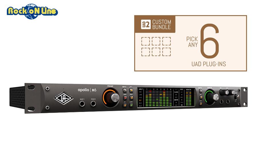 Universal Audio(ユニバーサルオーディオ) Apollo X6 / Custom 6 Upgrade【DTM】【オーディオインターフェイス】