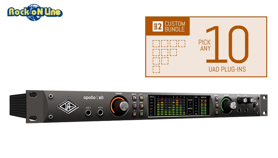Universal Audio(ユニバーサルオーディオ) Apollo X8 / Custom 10 Upgrade【DTM】【オーディオインターフェイス】