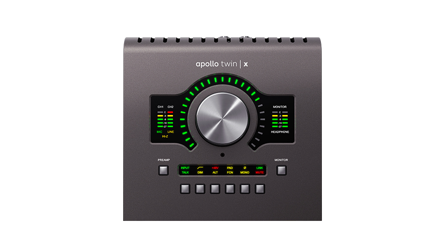 Universal Audio(ユニバーサルオーディオ) APOLLO TWIN X / DUO【DTM】【オーディオインターフェイス】【エフェクトプラグイン】