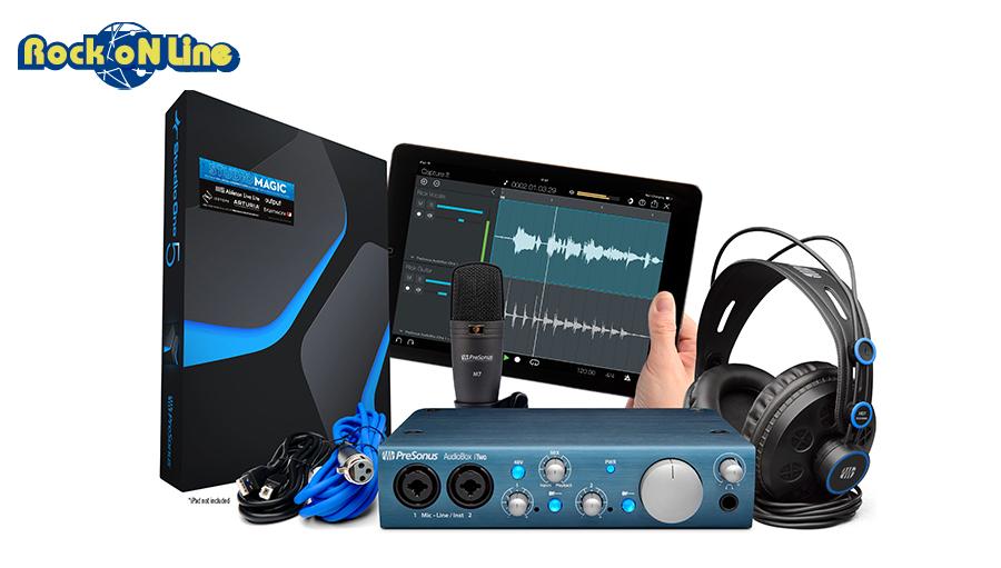 PreSonus プリソーナス AudioBox 売れ筋ランキング iTwo お値打ち価格で Studio オーディオインターフェイス DTM