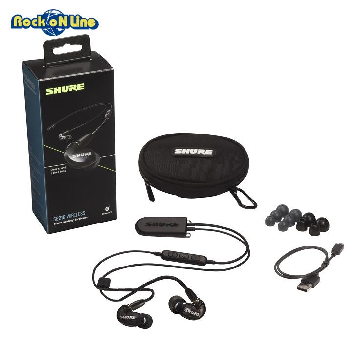 SHURE(シュア) SE215K+BT2A【イヤホン・イヤーモニター】【Bluetooth】