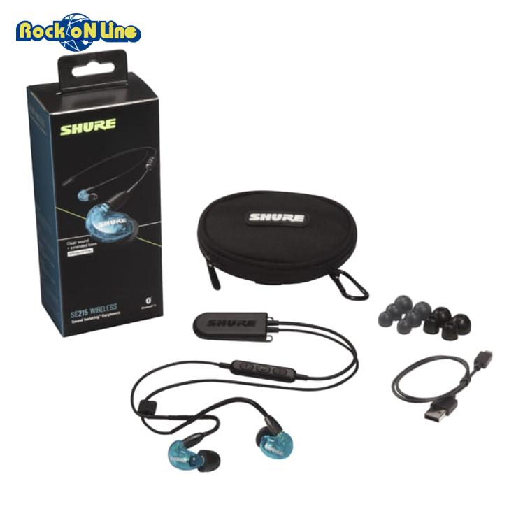 SHURE(シュア) SE215SPE B+BT2 A【イヤホン・イヤーモニター】【Bluetooth】